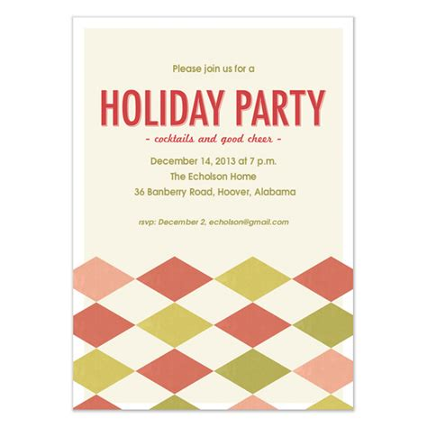holiday party invitation for outlook party invitations ideas