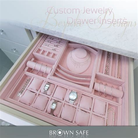 Custom Jewelry Drawer Inserts by 1000 Ideas About Jewelry Drawer On Closet