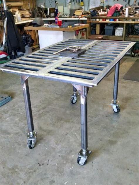 diy welding table plans 17 best ideas about welding table on welding