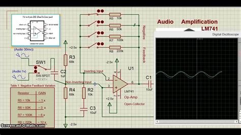 photodiode in proteus proteus ic lm741 op operational lifier circuit