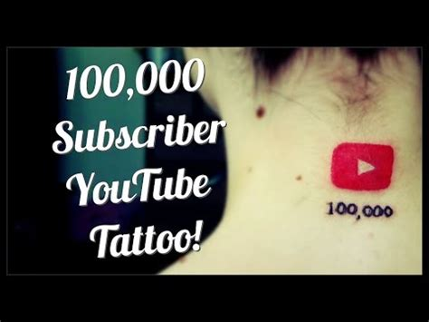 100 000 subscriber dedication