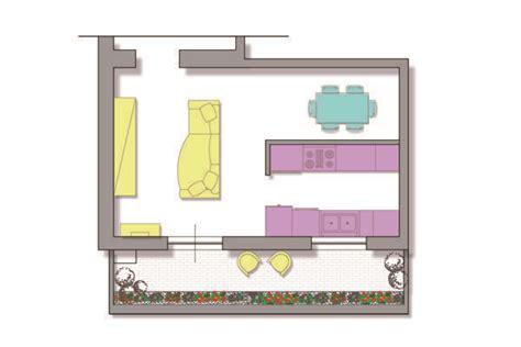 progettare soggiorno progettare cucina e soggiorno
