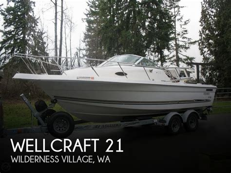 wellcraft boats seattle 22 foot wellcraft 21 22 foot motor boat in maple valley