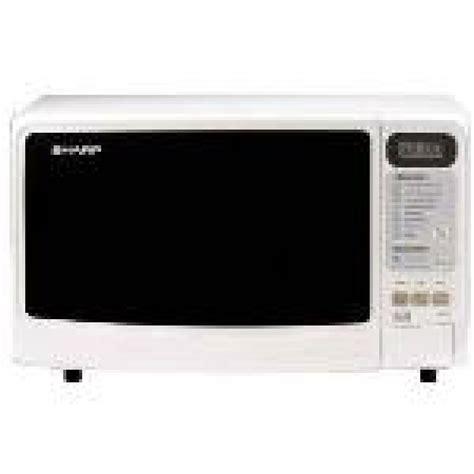 sharp r 249 white 800w microwave oven 220 volts