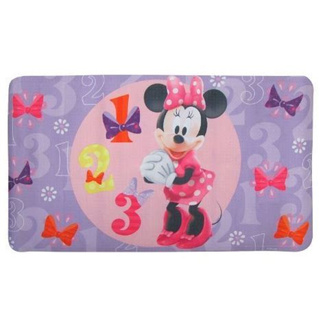 Minnie Mouse Bathroom Rug Disney Minnie Mouse Quot Bowtique Quot Decorative Bath Mat Pink Home Garden Bathroom Accessories Mats Rugs