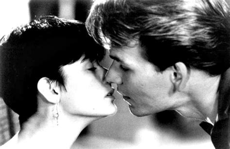 ghost film kiss demi moore reveals why she thought ghost quot was a recipe for