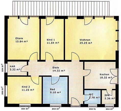 Bungalow 4 Schlafzimmer Grundriss by Bungalow Grundriss 3 Schlafzimmer Alle Ideen 252 Ber Home