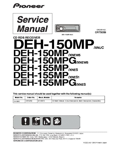 pioneer deh p6800mp wiring diagram 28 images deh 14ub