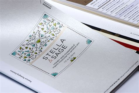 Paper Folding Board - neenah packaging brings custom shimmer to the shelf