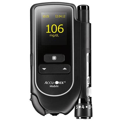 Accu Mobil Fb accu chek mobile mg dl blutzuckermessger 228 t 1 set diashop