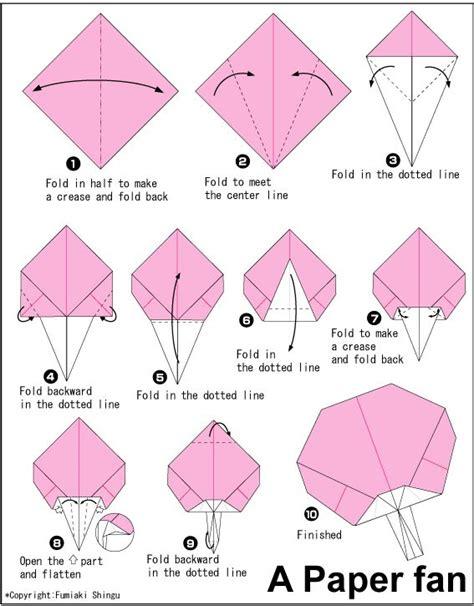 Origami Paper Fan - origami paper fan flash