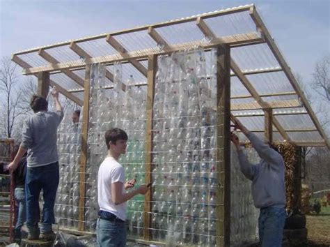 Build a Greenhouse of Plastic Bottles