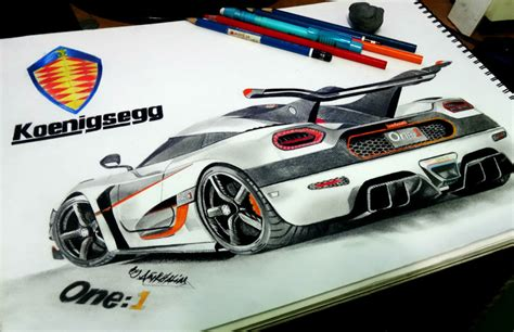 koenigsegg one drawing koenigsegg agera one 1 pencil drawing by neveramez on