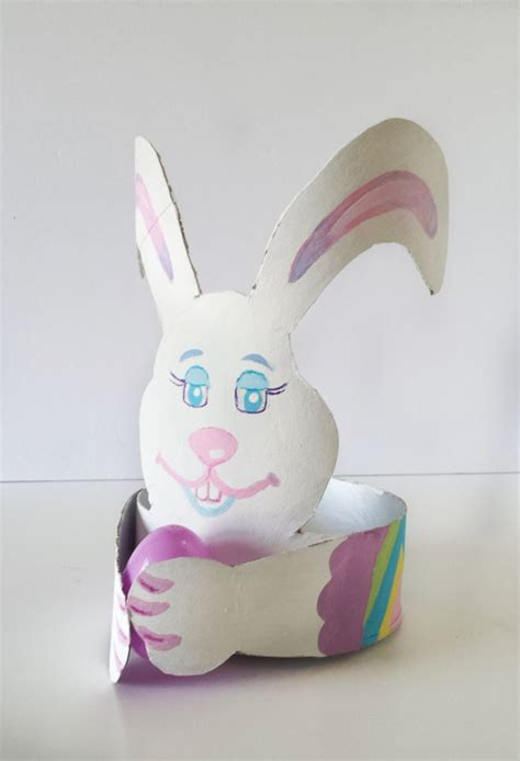Easter Bunny Decor by Easter Decor Diy