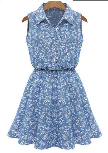 Dress Casual Cantik dress lengan buntung casual cantik 2015 myrosefashion