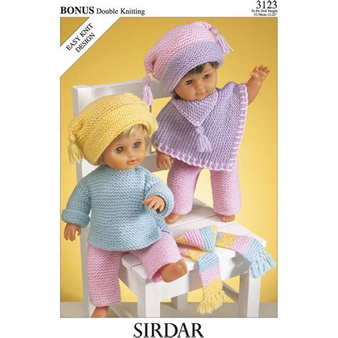 rico design knitting doll sirdar knitting patterns for dolls clothes crochet and knit