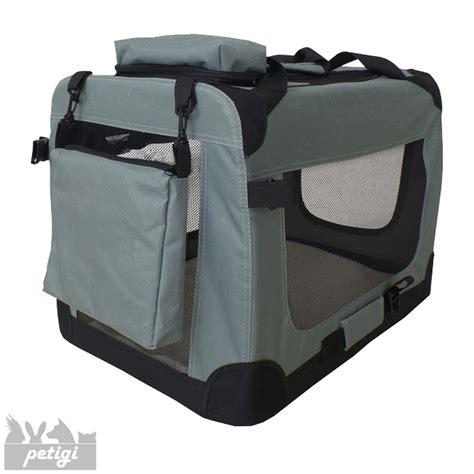box cani per auto trasportino borsa per box gabbia pieghevole auto 7
