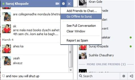facebook chat bar top friends appear offline to one or more friends on facebook chat