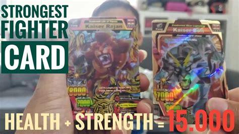 koleksi kartu strong animal kaiser terkuat health strength  youtube