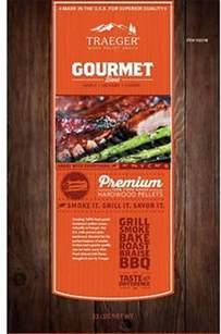 traeger gourmet blend 33 lbs wood pellets costco com