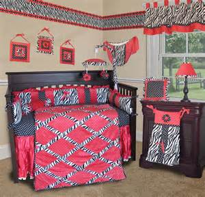 l shade for pink zebra baby crib bedding set by sisi