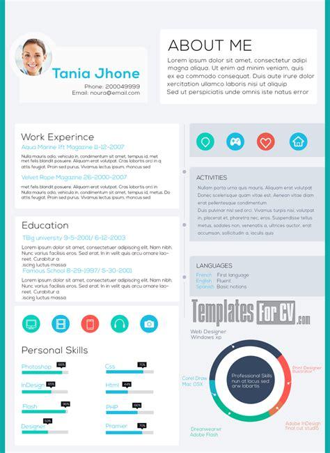 cv design john doe psd executive cv template