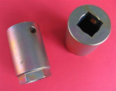 high pressure oil rail socket  oil rail ball tube removal