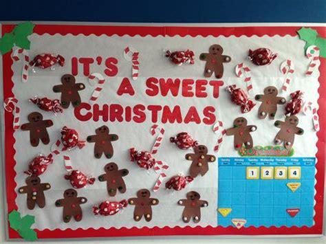 christmas soft board decorations quot it s a sweet quot bulletin board idea