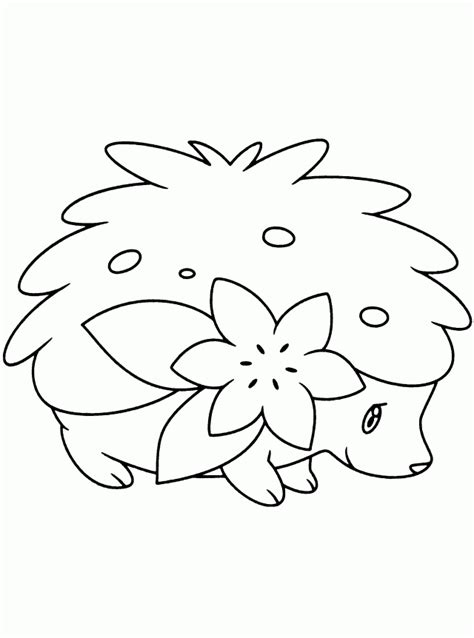 pokemon coloring pages shaymin shaymin coloring pages coloring home