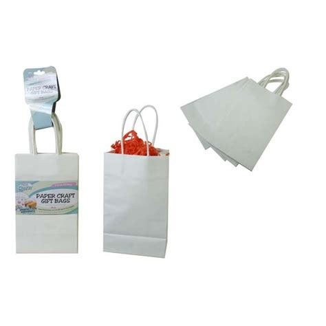 Paper Craft Supplies Australia - 4 pack paper craft gift loot bags create your own