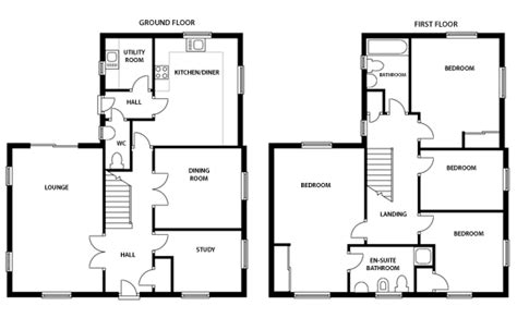 Floor Plan Examples by Floor Plan Service The House Shop Blog