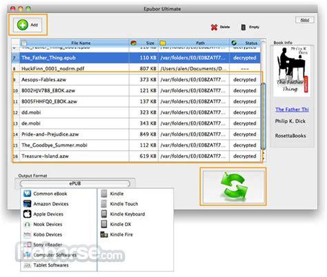 ebook format converter mac epubor ultimate ebook converter 3 0 9 331 download for mac