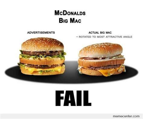 Big Mac Meme - big mac reality by ben meme center