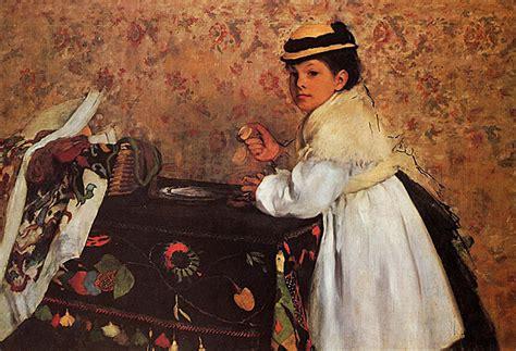 Degas Interior by Edgar Degas