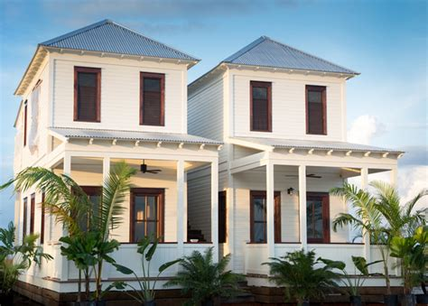Cottage Style Homes Plans Mahogany Bay Belize Beach Style Exterior Other
