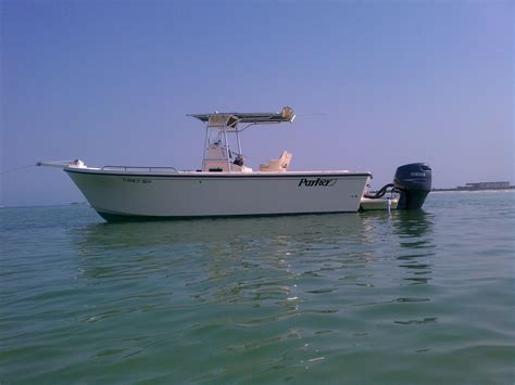 fishing boats for sale 25 ft 2002 25 ft parker center console 35 500 the hull truth