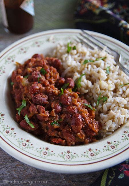 vegetarian bean and rice recipe easy beans and rice recipe from fatfree vegan kitchen