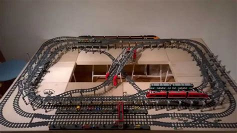 train layout videos youtube ultimate compact lego train layout youtube