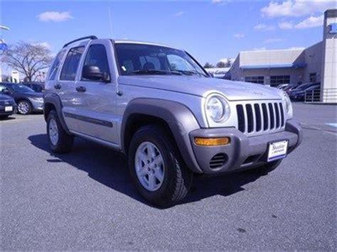 04 Jeep Liberty Sell Used 04 Jeep Liberty Sport 3 7l V6 4wd Manual No