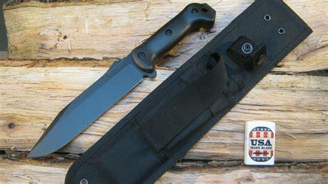 survival knives made in usa ka bar bk7 survival knife made by usa made blade
