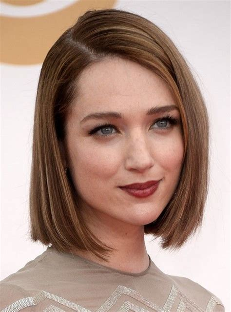 woman short layered bob wedged into neck 100 hottest short hairstyles haircuts for women