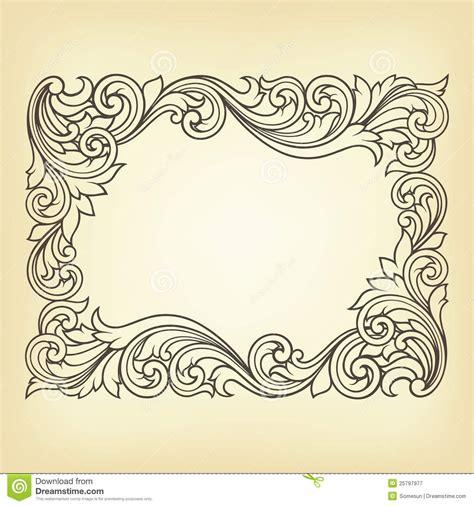pattern frame vector 17 vintage frames and borders vectors images vintage