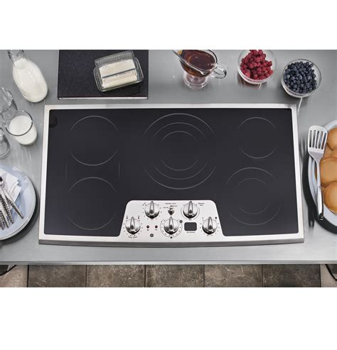 ge profile electric cooktop 36 ge profile series 36 quot built in cooktop pp962smss ge