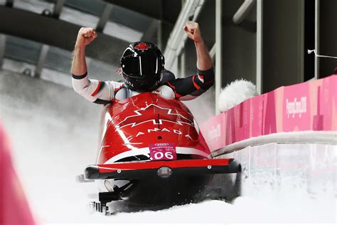 two bobsled ends in gold medal tie for germany canada