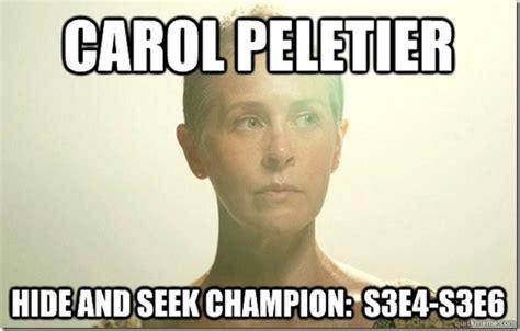 Carol Meme - hide and seek chion memes