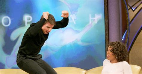 Tom Cruise Jump by Tom Cruise Jumps For Literally Photos Oprah