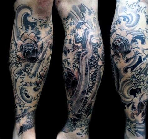 lower leg sleeve tattoo designs top 75 best leg tattoos for sleeve ideas and designs