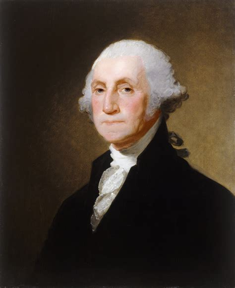 on george file george washington by gilbert stuart c 1821