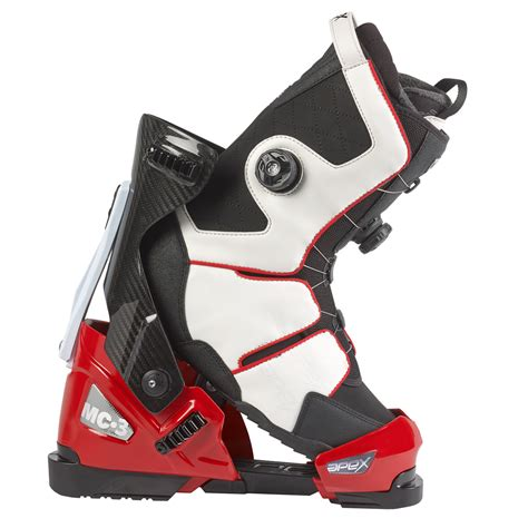 ski shoes 2016 17 apex boot system line up apex ski boots