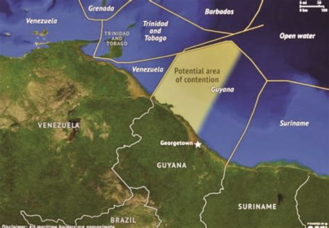 5 themes of geography guyana govt says it will not surrender sovereign rights guyana